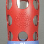 Lifefactory glass water bottle 22oz Red