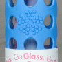 LifeFactory Glass water bottle 9oz blue