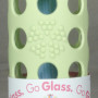 LifeFactory Glass water bottle 9oz green