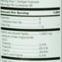 Douglas labs medium chain trigycerides nutrition label