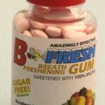 B-Fresh mixed fruit gum